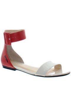 Sandales Calvin Klein Jeans Sandale plate Jennifer ref_jim34672-corail(101614868)