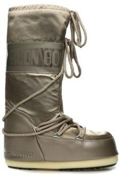 Moon Boot Kadın Classic Bronz Logolu Kar Botu Altın Rengi 39-42 EU(108579511)