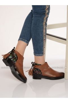 Tan - Boot - Boots - Shoestime(110314754)