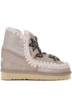 Bottes neige enfant Mou Demi-botte modèle Eskimo 18 Crystal Stars stone en peau(115461516)