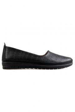 Caprito Kadın Günlük Ayakkabı 1550-sıyah-kroko Siyah Kroko(113622728)