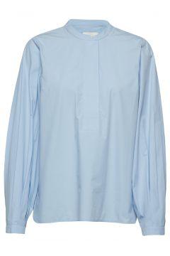 Kata Ls Blouse Langärmliges Hemd Blau SECOND FEMALE(114152728)