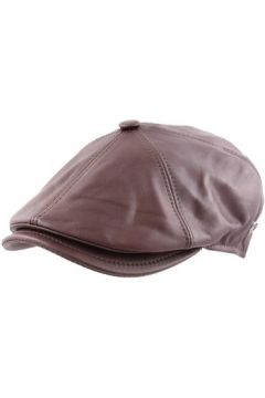 Casquette Modissima Béret casquette cuir Shine marron(88690201)
