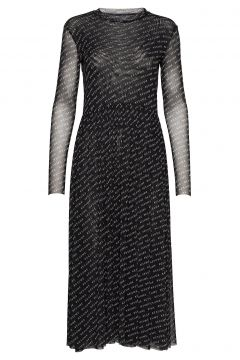 Pinar Dress Kleid Knielang Schwarz RÉSUMÉ(114163767)
