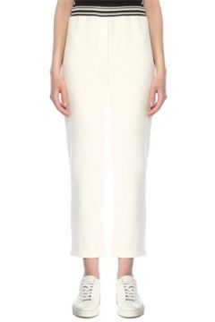 Beymen Collection Kadın Beyaz Rib Detaylı Eşofman Altı S(113468133)