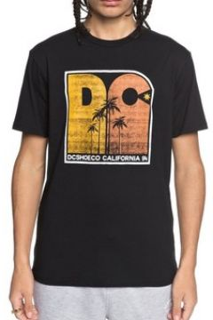 T-shirt DC Shoes T-shirt Sunset Palm noir(115467268)