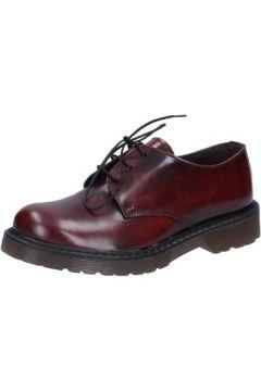 Chaussures Olga Rubini élégantes bordeaux cuir brillant AD720(115395338)