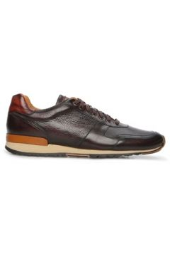 Magnanni Erkek Kahverengi Logolu Deri Sneaker 42 EU(126848109)