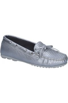 Chaussures K852 Son mocassins argent cuir BT934(115442973)