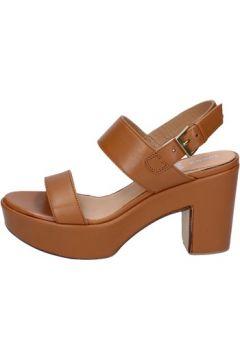 Sandales Shocks sandales marron cuir BY396(115401129)