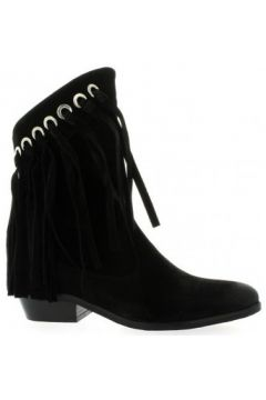 Bottines Just Juce Boots cuir velours(98529192)