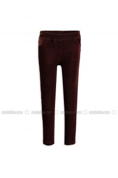 Brown - Legging - LC WAIKIKI(110343452)