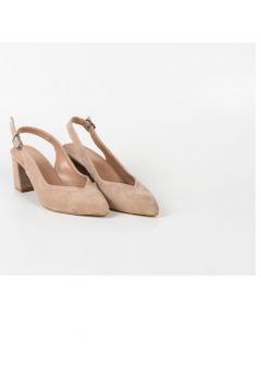 Park Moda Pm09 K701 Arkası Açık Bayan Kare Topuk Ayakkabı(124969287)