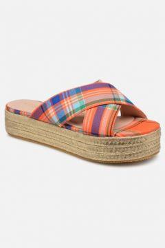 Essentiel Antwerp - Swelter sandals - Clogs & Pantoletten für Damen / orange(111619885)