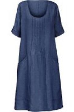 Leinenkleid mit 3/4-Arm Anna Aura indigo(115851573)