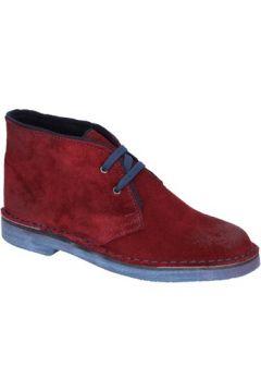 Boots Miss 20 By Coraf MISS 20 bottines bordeaux daim BX663(115442615)