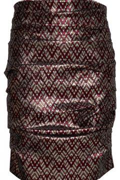April Skirt Knielanges Kleid Silber BIRGITTE HERSKIND(114163953)