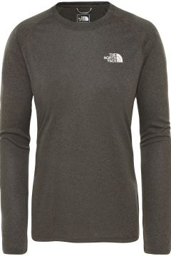 THE NORTH FACE Reaxion Amp Crew Tech Tee LS groen(107972054)