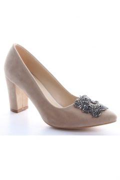 Oc Shoes Süet Kadın Topuklu Ayakkabı 63(110952400)
