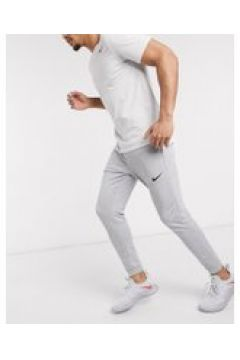 Nike Training - Dri-Fit - Joggers affusolati grigi in pile-Grigio(120245526)