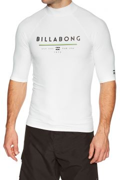 Billabong Unity Short Sleeve Rash Vest - White(100268892)