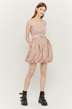 Kleid mit Puffärmeln(111106323)