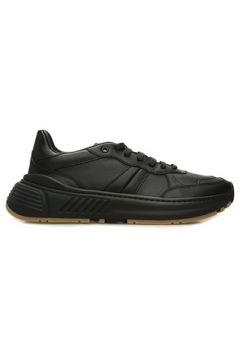 Bottega Veneta Erkek Siyah Deri Sneaker 42 EU(108010473)