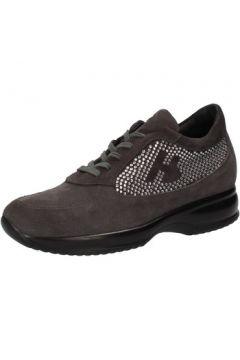 Chaussures Hornet Botticelli BOTTICELLI sneakers gris daim strass AE480(88516501)