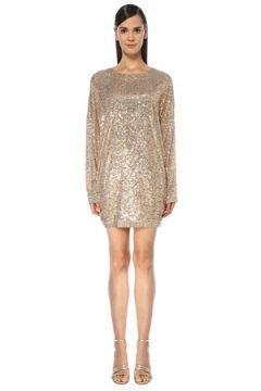 In the Mood for Love Kadın Alexandra Gold Payetli Mini Abiye Elbise Altın Rengi S EU(118739798)