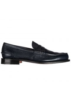 Men's leather loafers moccasins pembrey(118073413)
