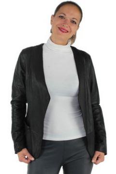 Blouson Oakwood Veste Design en cuir ref_cco37639-noir(115555642)