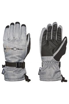 686 Paige Damen Ski-Handschuhe - Grey Diamond Texture(100797022)