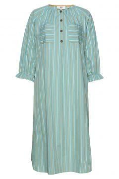 Dress Long Sleeve Kleid Knielang Grün NOA NOA(116470471)