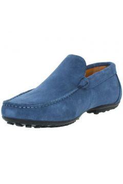 Chaussures Baxton Mocassins ref_bom43396-bleu(88519537)