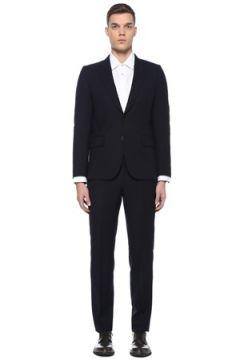 Paul Smith Erkek Tailored Fit Lacivert Yün Takım Elbise 48 IT(107373360)
