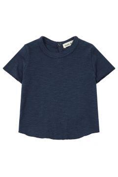 T-Shirt aus Baumwolle und Leinen(113871827)