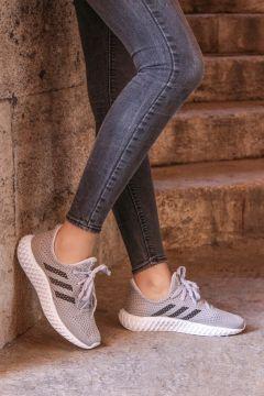 FAST STEP Kadın Gri Sneaker Ayakkabı 930zafs4(116840085)