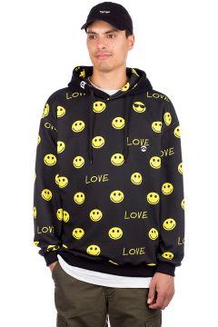 Love Dont worry Be Happy Hoodie zwart(94104761)