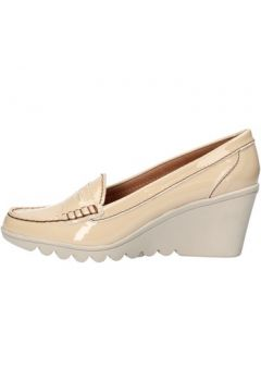 Chaussures Keys mocassins beige cuir verni AG784(115393539)