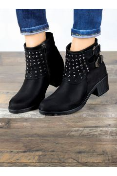 Black - Boot - Boots - Angelshe(110340372)