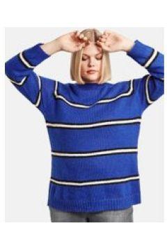 Sweter w paski Niebieski 52/XXL(115894498)