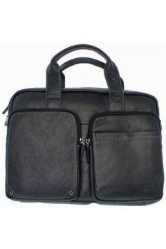 Francinel Serviette cuir vachette 33343-noir(115559209)