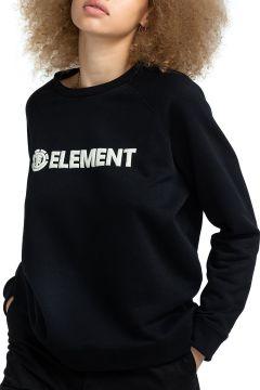 Sweat Femme Element Logic Crew - Flint Black(121116441)