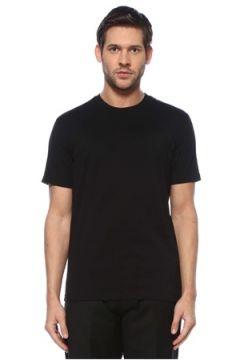 Givenchy Erkek Siyah Logo Şeritli Basic T-shirt S EU(126468843)