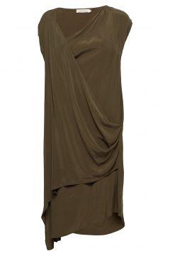 Sand Washed Short Dress(81277698)