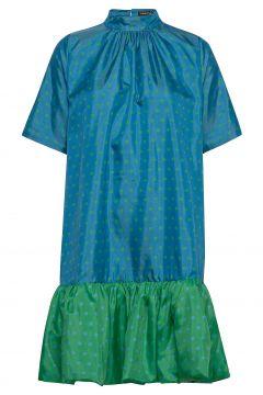 Wendy, 870 Green Blue Dots Kleid Knielang Blau STINE GOYA(117467259)
