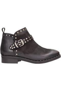 Boots N\'sand - Tronchetto nero nabuk 1623(101788209)