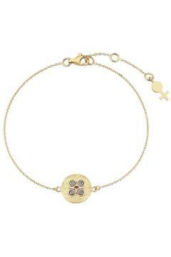 Her Story Kadın Kariyer Gold Madalyon Detaylı Altın Rengi Bilezik Sarı EU(118059038)