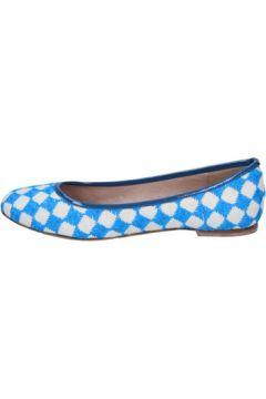Ballerines 18 Kt ballerines blue beige textile BS174(115443111)