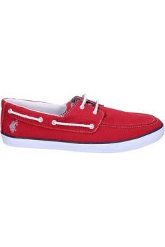 Chaussures U.S Polo Assn. mocassins rouge textile AP271(115443210)